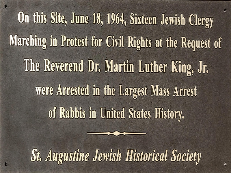 Rabbis Arrested Supporting Martin Luther King